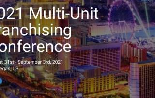 Multi-Unit Franchising Conference 2021