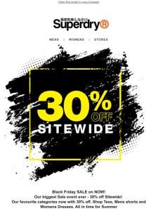 superdry black friday offer