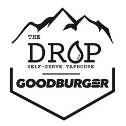 the drop good burger logo