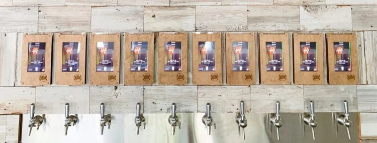self serve beer craft brewing business