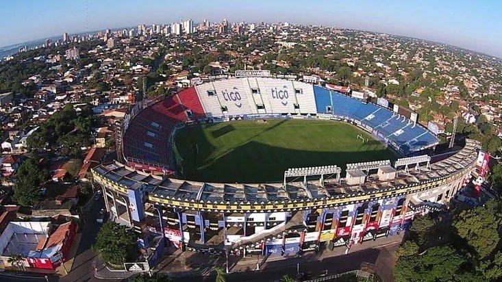 Estadio defensores del chaco Paraguay