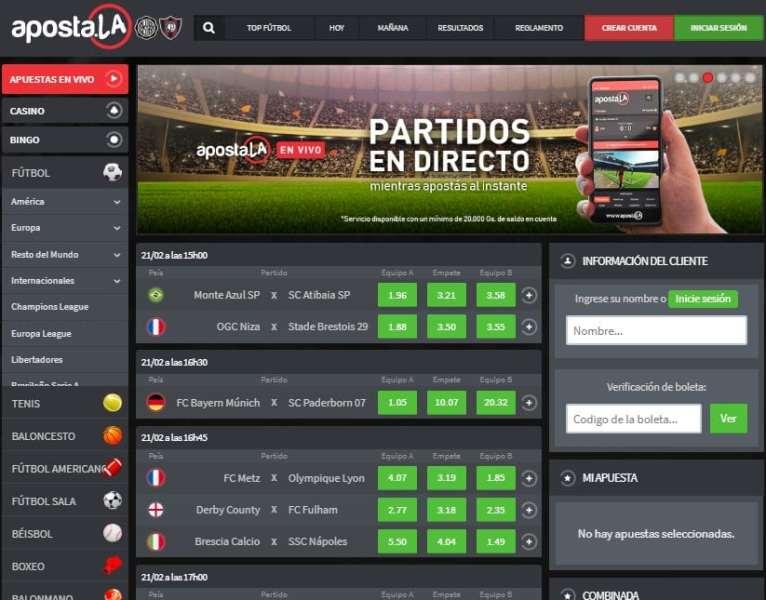 Apostala Paraguay predicciones y pronósticos de fútbol bingo casinos