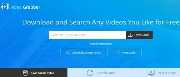 10 sitios para descargar videos de youtube Video Grabber