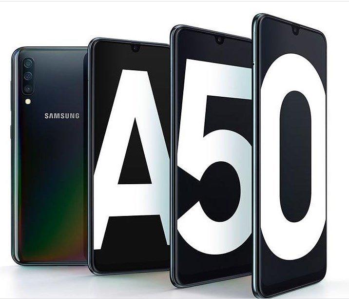 Samsung A50 precio Paraguay caracteristicas