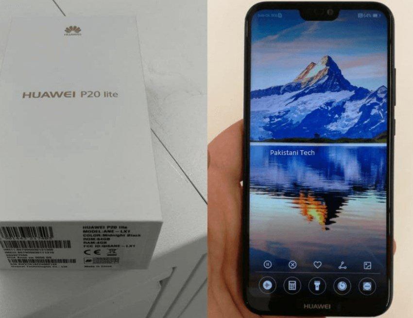 Huawei p20 lite características