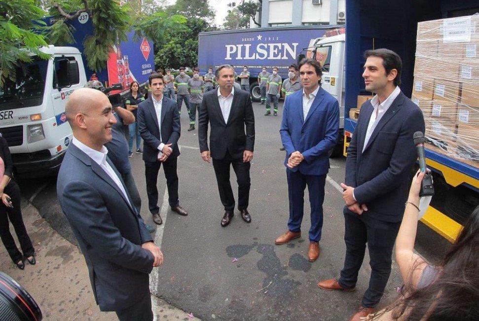 Pilsen dona al Ministerio de Salud