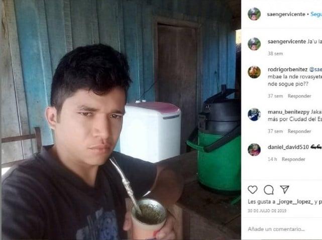 Jaka Saenger Paraguayo Récord en Instagram