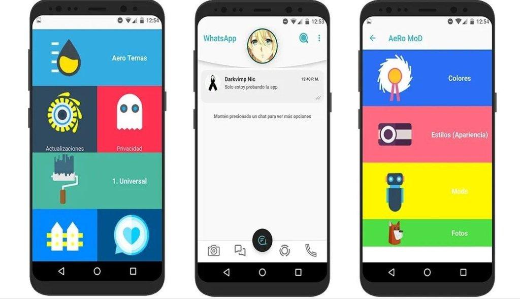 WhatsApp Aero 2020