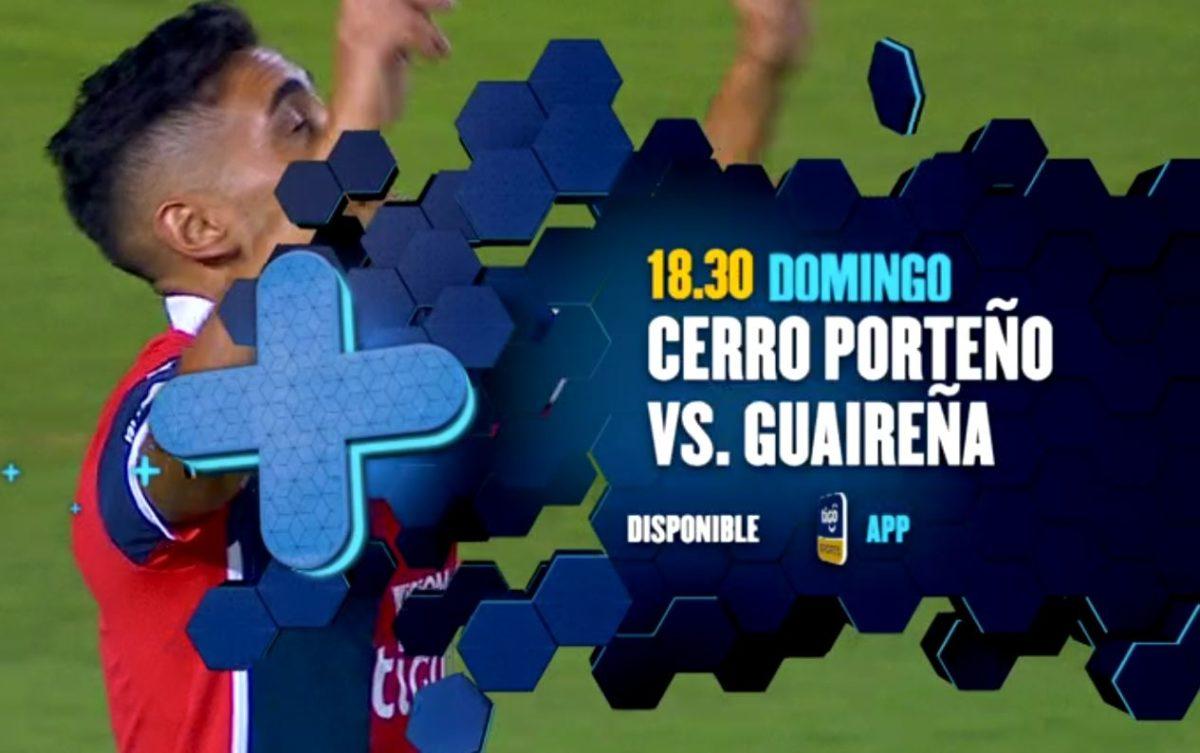 Cerro porteño vs Guaireña
