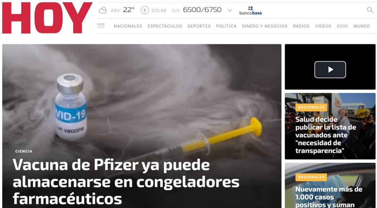 Diario HOY PY