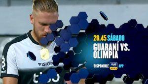 Olimpia vs Guaraní hoy 20 de febrero, un partido atrapante