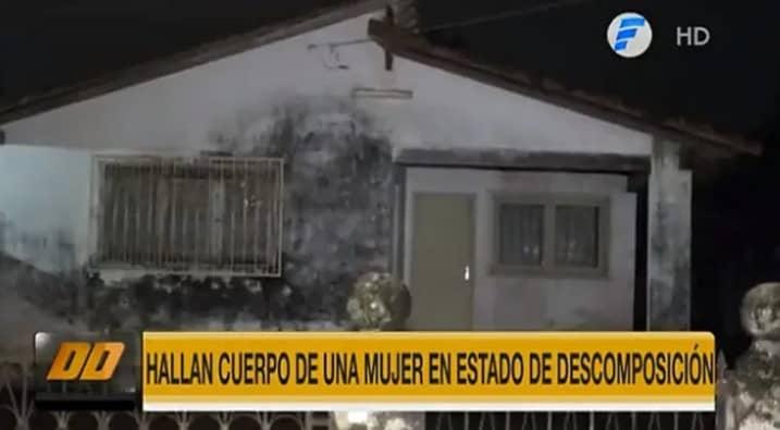 Hallan sin vida a una mujer dentro de su casa en Capiatá