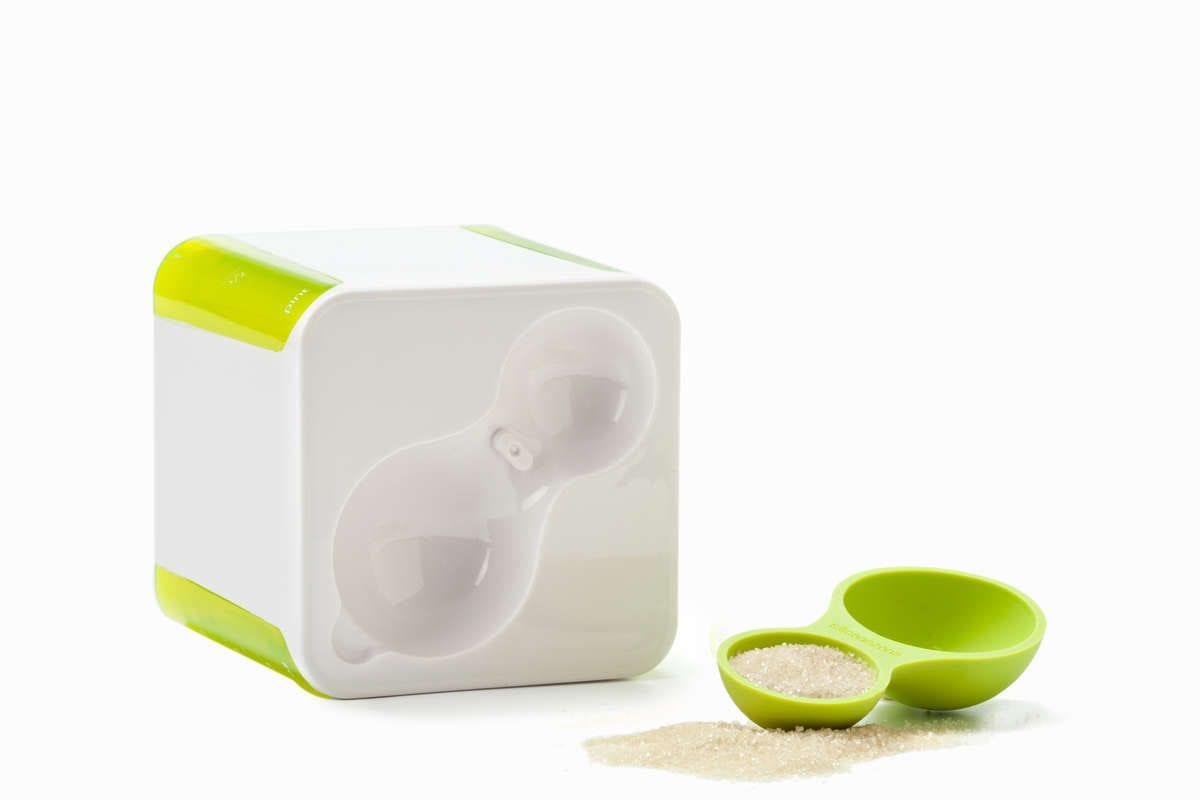 Measuring Cube Amp Spoon Set