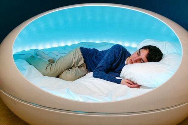 Tranquility Pod Bed That Massages You To Sleep  IPPINKA