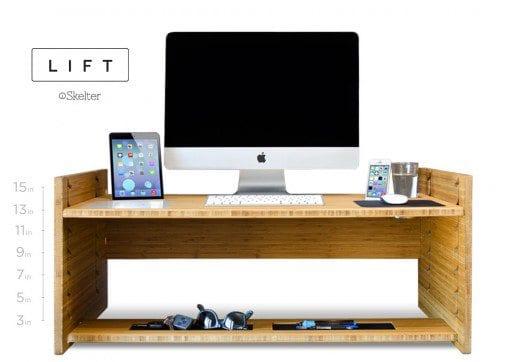 Lift Convertible Standing Desk  IPPINKA