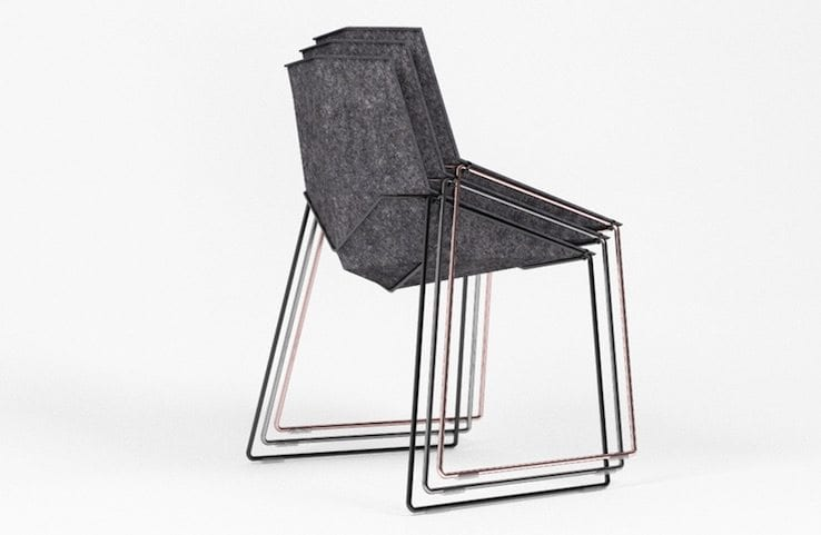 stackable chairs for less chair design engineering nico minimalist ippinka being designed with this purpose the are able to stack without compromising