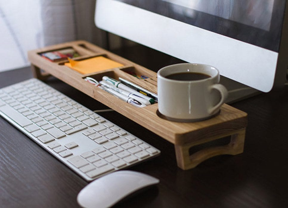 Wooden Desk Organizer IPPINKA