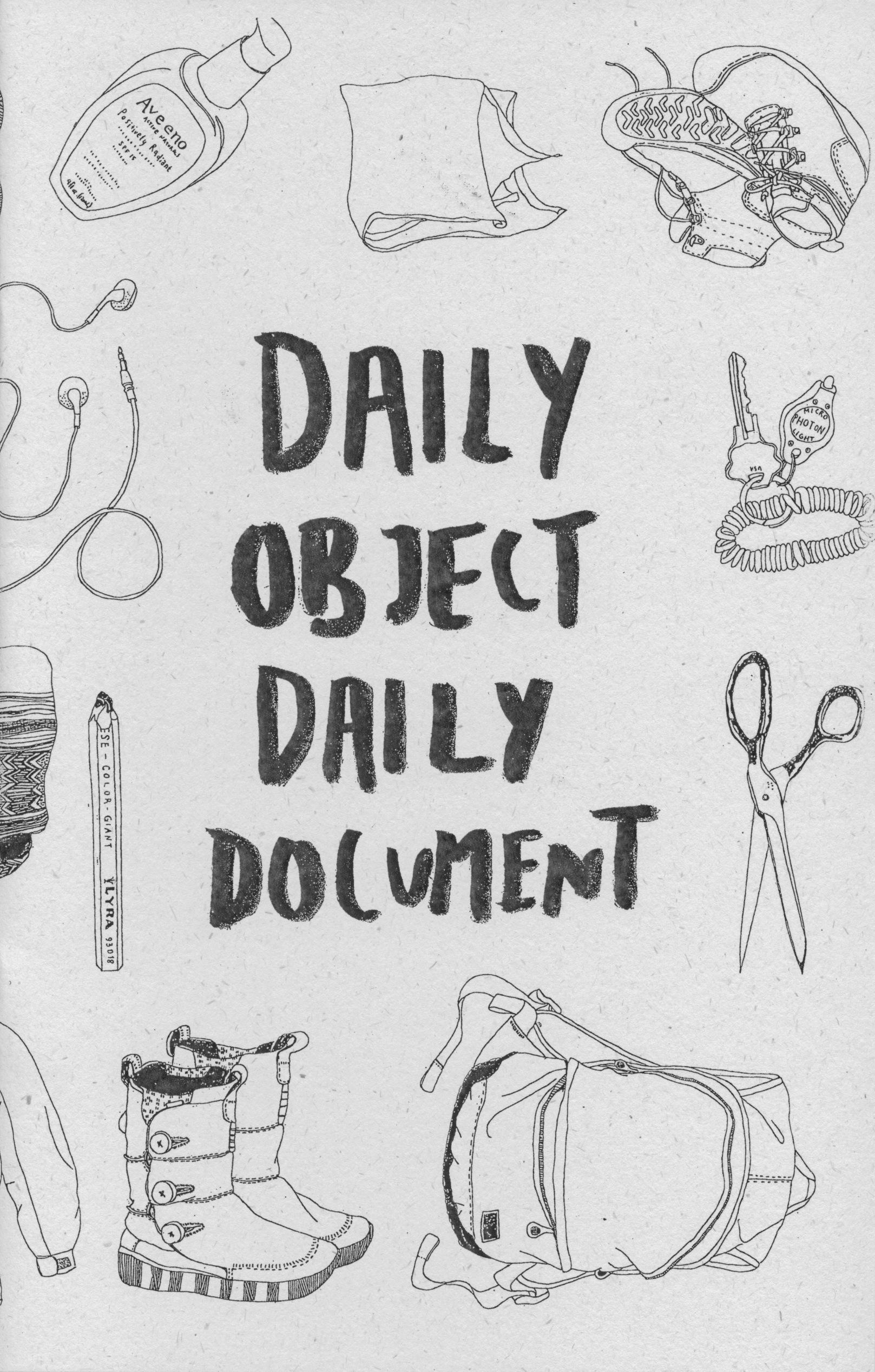 April 2014: Kione Kochi's Daily Object Daily Document