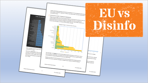 EUvsDisinfo Disinformation Review Report