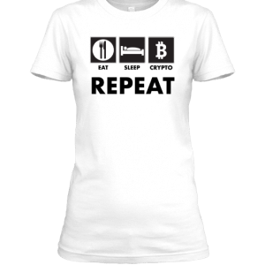 Eat Sleep Crypto Repeat (For Her)