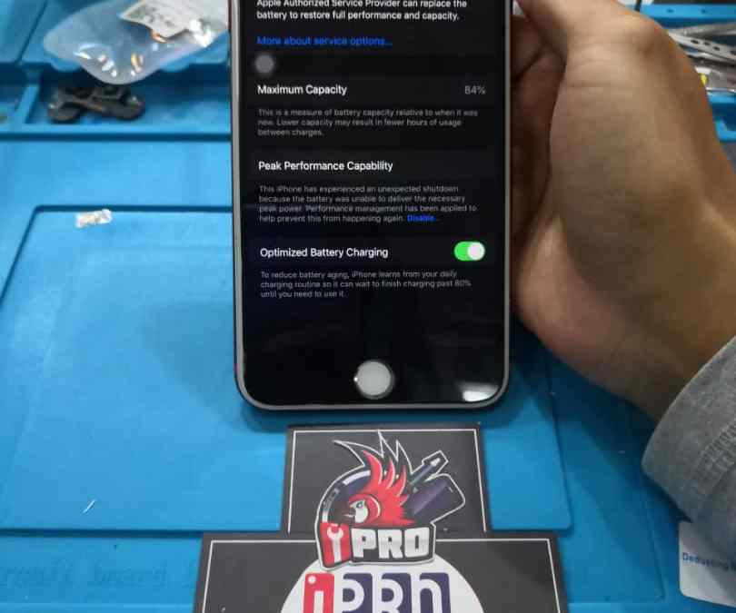 iPhone 7 Plus Battery Drain Repair In iPro Ampang