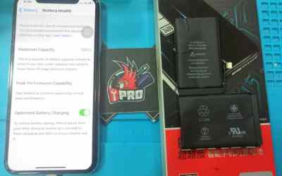 iPhone X Yoobao Battery Replacement 18 Months Warranty At iPro Ampang