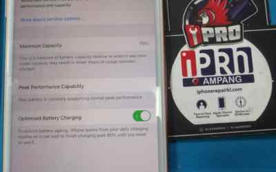 Iphone 8 Plus YooBao Battery Replacement 18 Months Warranty At iPro Ampang