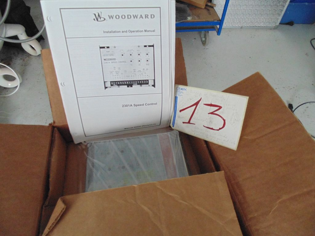 Woodward 2301 Manual