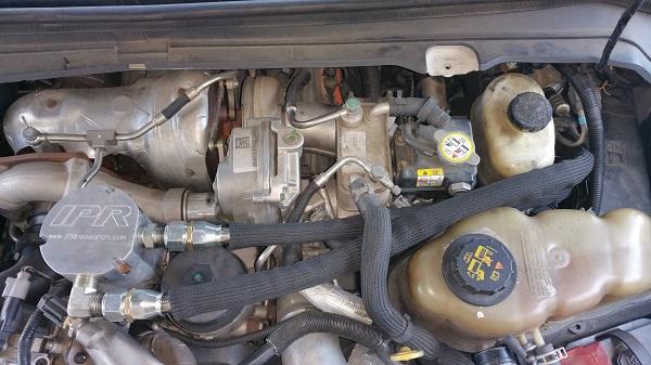 Air Cooled Vw Fuel Gauge Wiring Diagram Ipr External Oil Cooler Kit For Ford 6 4 Powerstroke