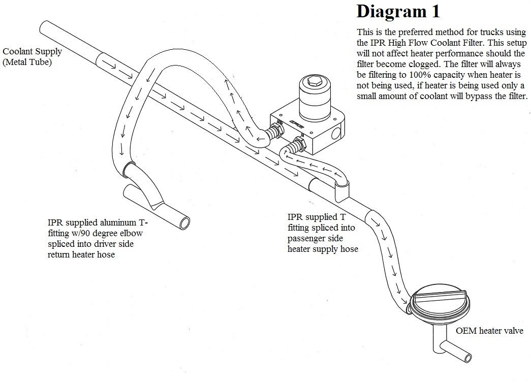 f350 6 0 diesel fuel filter