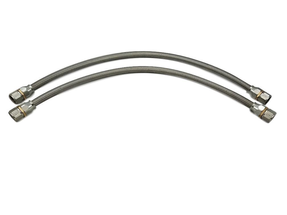 IPR Stainless Braided Hose Teflon Lined Pair of 2 Hoses 34