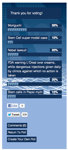stem cell poll