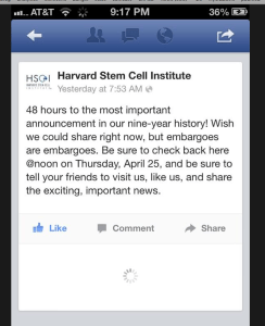 Harvard Stem Cell Institute
