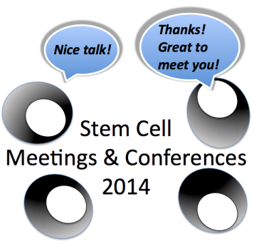 stem cell meetings 2014