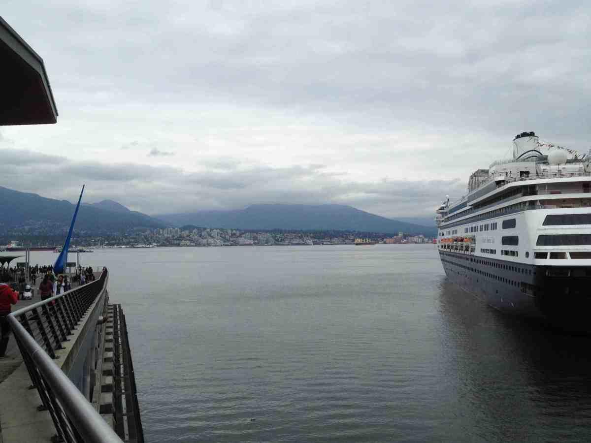 Cruise Ship Vancouver