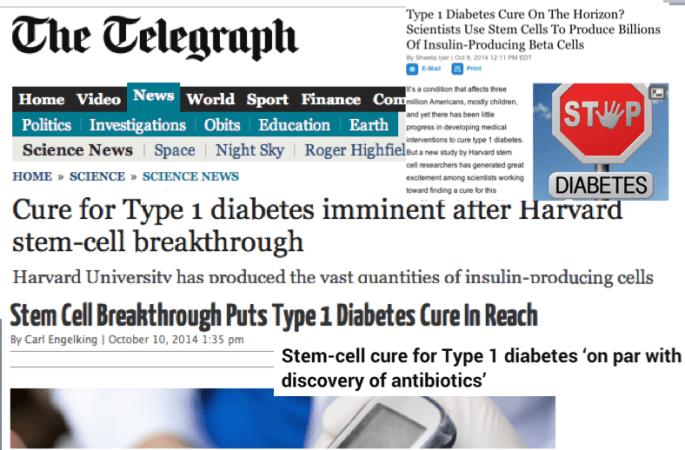 Stem Cells for Diabetes Hype