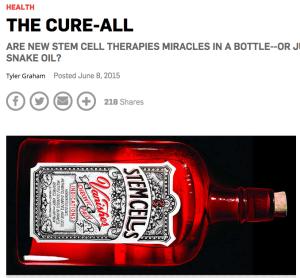 Popular Science stem cells
