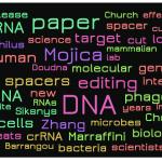 Does Word Cloud of Lander's Heroes of CRISPR Text Suggest Bias?