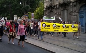 Greenpeace anti-GMO march