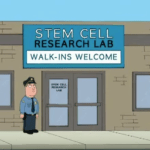 Family Guy Cartoon Blows it on Stem Cells for Stroke