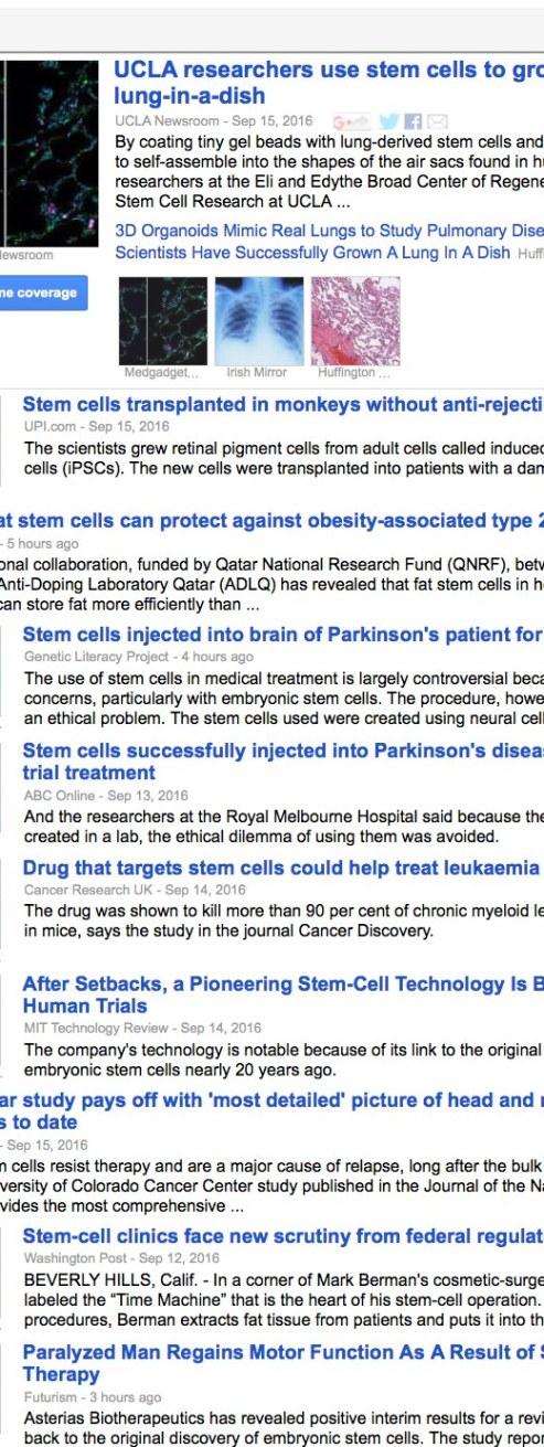 top-stem-cell-headlines