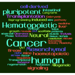 Text mining top 50 papers reveals hottest 2016 stem cell trends