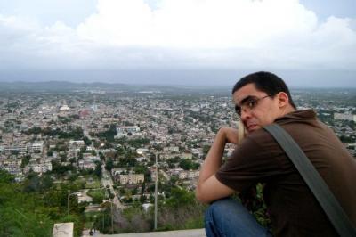 Leandro Estupiñan, autor del Blog Cuba vista a las seis.