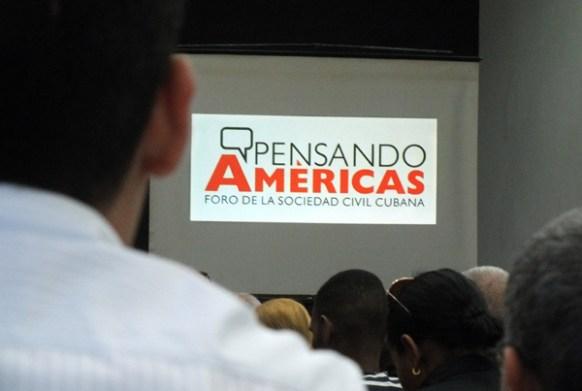 El foro titulado Pensando Américas elaboró recomendaciones y propuestas que serán presentadas por las organizaciones cubanas que asistan al espacio de Panamá. Tomado de Radio Rebelde