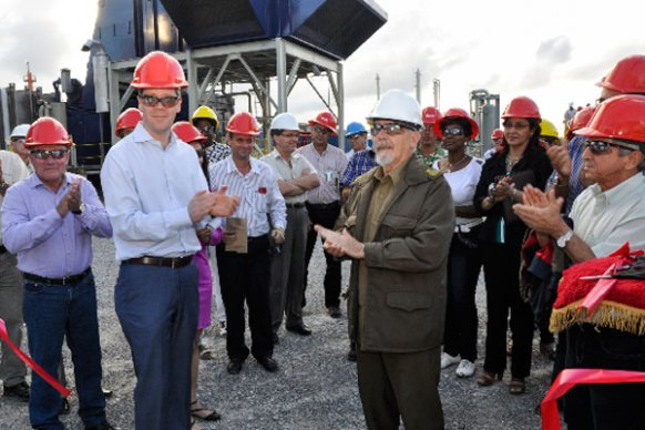 Energas gives a more efficient change of direction to the exploitation of the gas that accompanies Cuba's largest oil deposits.