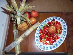 Ingredientes para la elaboración del aliñado oriental.
