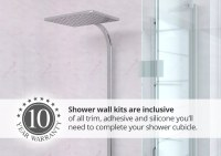 Shower Wall Panel Kits, Shower Panels For Bathrooms, FREE ...