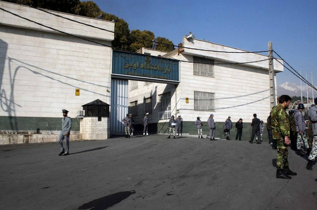 Iran's notorious Evin Prison outside Tehran holds many of the country's political detainees. Credit: Sabzphoto/CC by 2.0