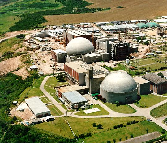 The first of Argentina's three existing nuclear plants, Atucha I, is located 100 km from Buenos Aires. China has offered to finance 85 percent of the 14 billion dollar cost of two other plants. Credit: CNEA