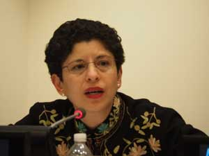 Azza Karam, Senior Advisor, UNFPA and Coordinator, UN Interagency Task Force on Religion and Development